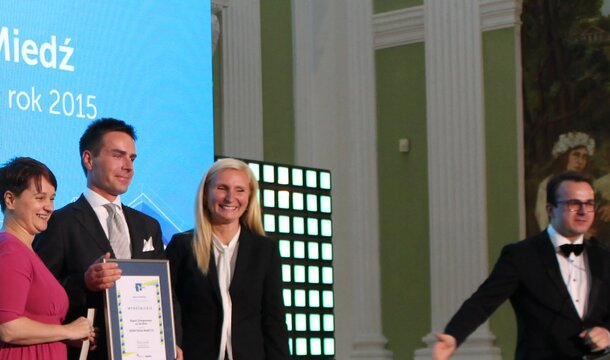 KGHM distinguished for its Social Report