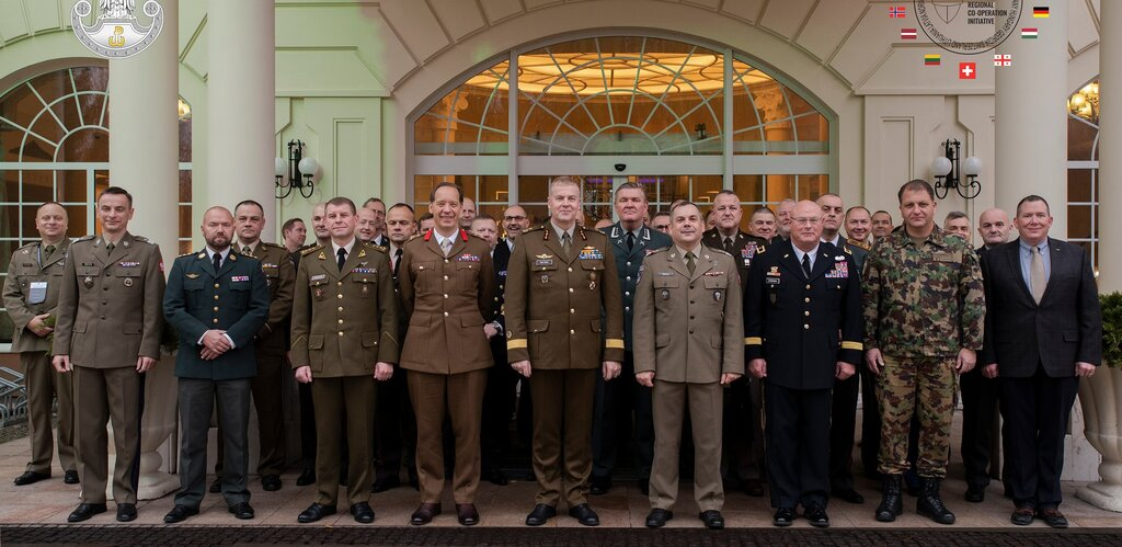 Trwa spotkanie w ramach Europejskiej Inicjatywy Współpracy Obrony Terytorialnej