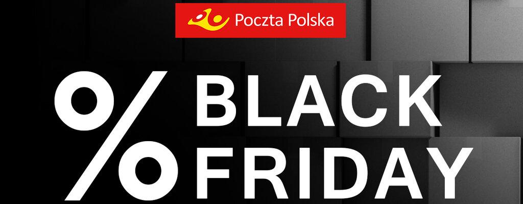Poczta Polska: rabaty na Black Friday