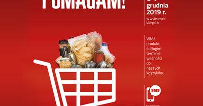 """""""Tak, POMAGAM!"""" – sklepy Carrefour włączają się w świąteczną zbiórkę żywności Caritas"""