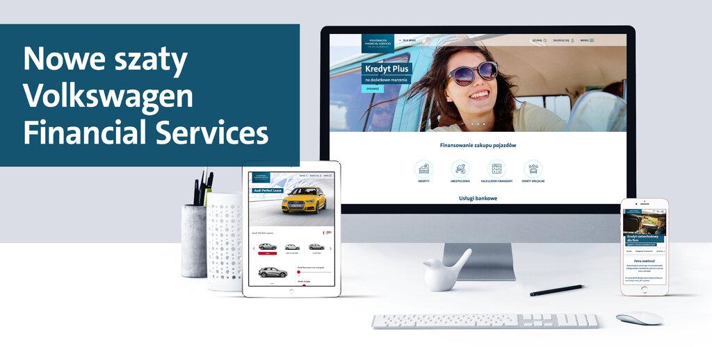 Nowa odsłona serwisu Volkswagen Financial Services