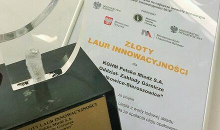 Nagrody NOT dla KGHM za innowacje