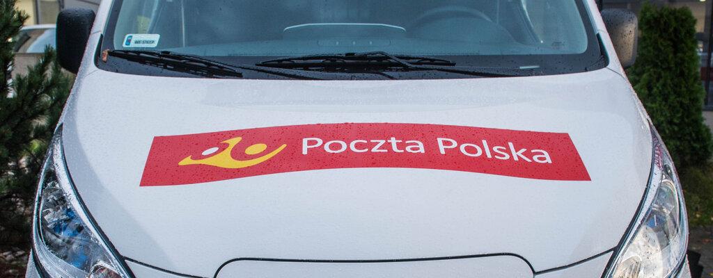 Poczta Polska świąteczne prezenty dowozi autami elektrycznymi
