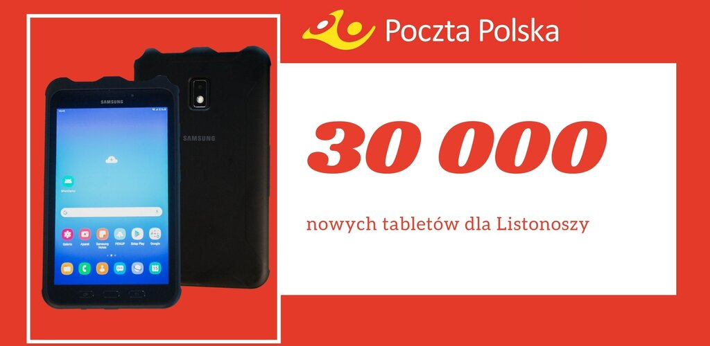 Poczta Polska: nowe tablety dla listonoszy
