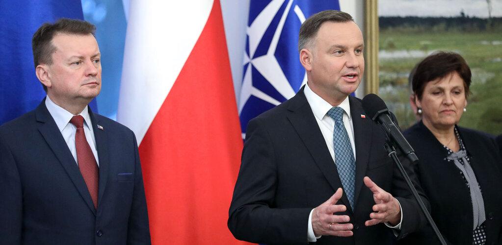Wystąpienie Prezydenta RP Andrzeja Dudy podczas wręczenia aktu mianowania gen. dyw. Wiesławowi Kukule