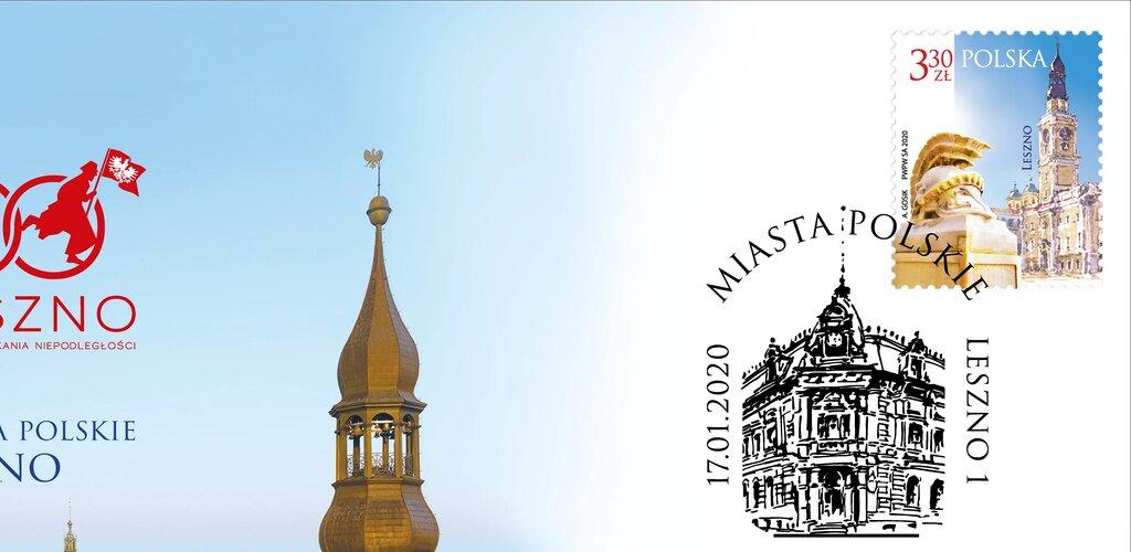 Poczta Polska: Leszno na 30 milionach znaczków