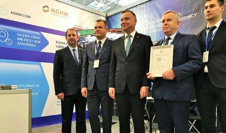 KGHM prezentuje się na Polskiej Wystawie Gospodarczej