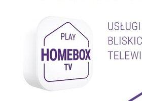 PLAY HOMEBOX TV – telefon, Internet, TV oraz prezenty na start w nowej ofercie