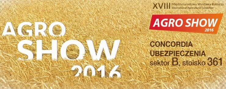 CONCORDIA NA AGRO SHOW 2016