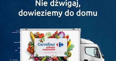 Nowe udogodnienia dla klientów e-sklepu spożywczego Carrefour