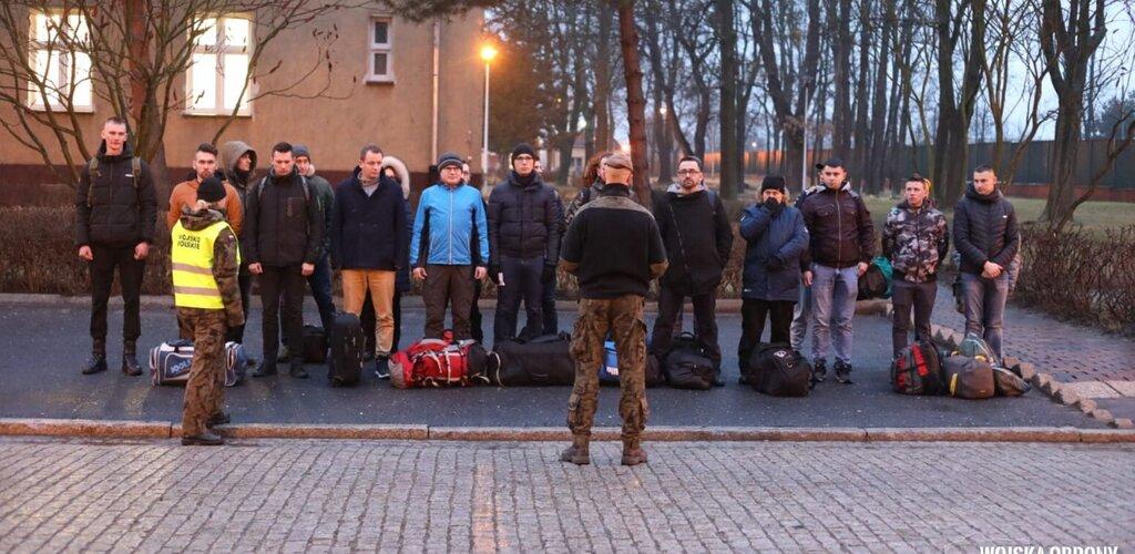 Pierwsi ochotnicy z Opolszczyzny wstąpili do WOT