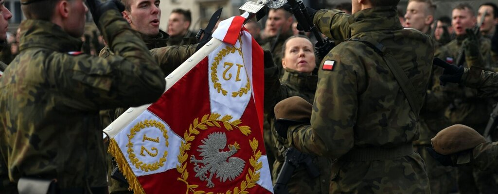"""Pierwsza """"lubuska"""" przysięga terytorialsów"""