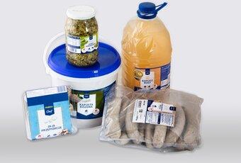 Produkty MAKRO Chef sygnowane logotypem programu Polskie Skarby Kulinarne