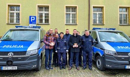 Wsparcie dla Komendy Powiatowej Policji w Lubinie