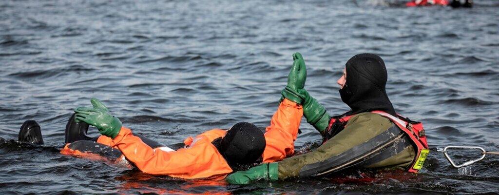 Szkolenie z ratownictwa wodnego