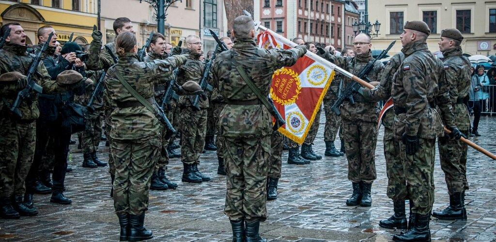 Pierwsza przysięga żołnierzy WOT na Dolnym Śląsku