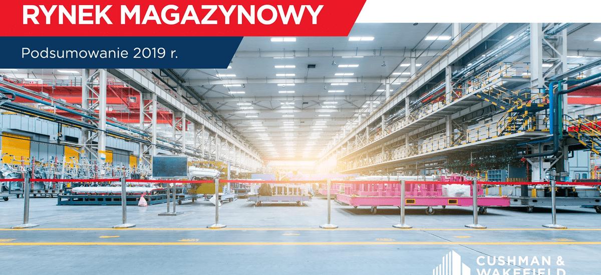 W 2019 roku na rynku magazynowym w Polsce odnotowano rekordowy poziom podaży. Motorem napędowym e-commerce
