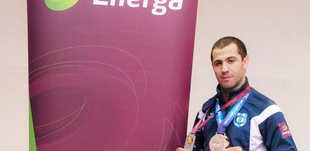 Energa ma nowego ambasadora. To zapaśnik Gevorg Sahakyan [mat. wideo]