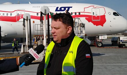 KGHM Polska Miedź S.A. imports medical equipment costing over USD 15 million from China. The first plane has already landed!