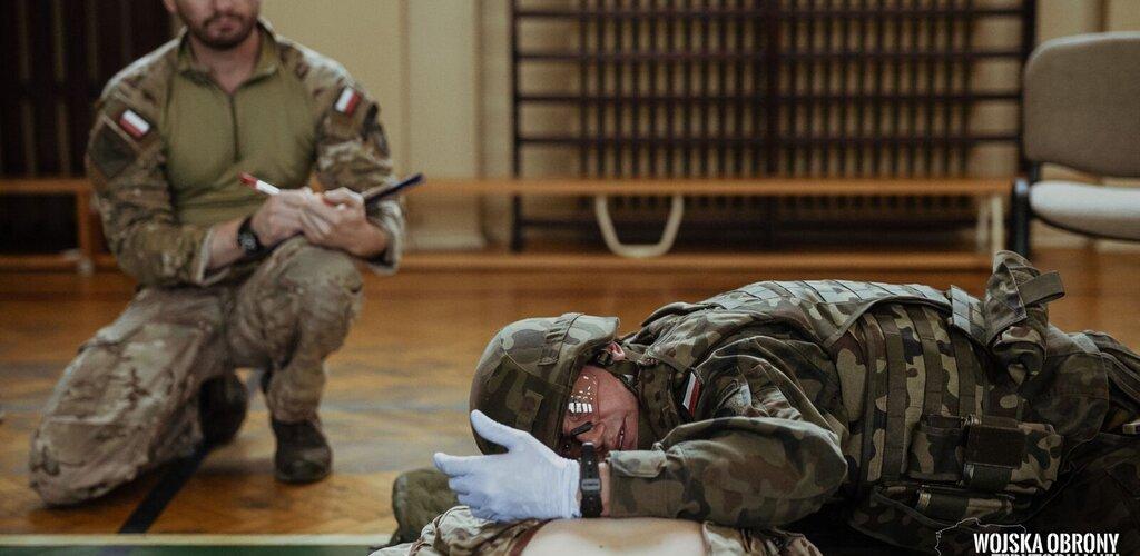 Najlepsi z najlepszych szkolą wojskowych medyków.