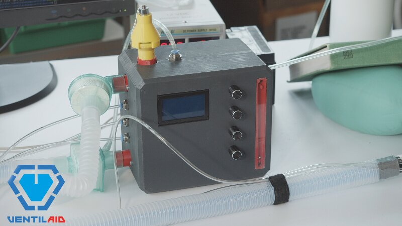 "Ventilaid, the creators of the ""last  chance ventilator"" have come up with a breakthrough invention"