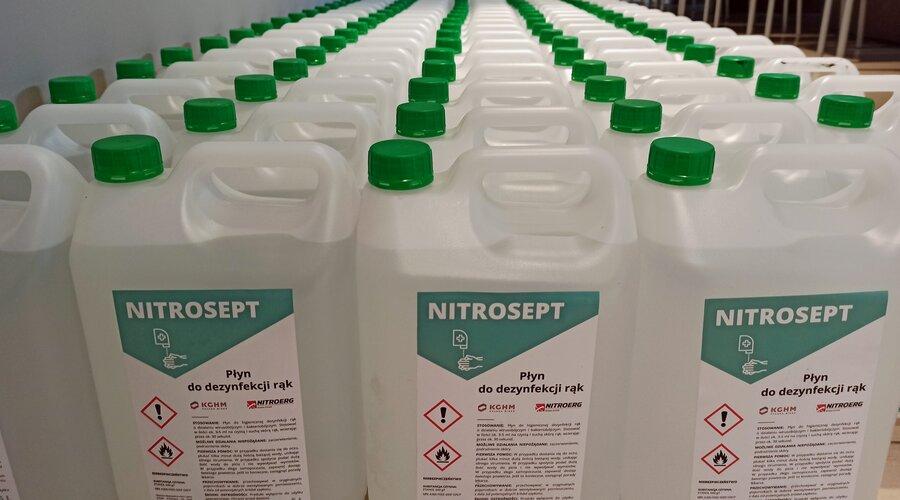 Grupa KGHM zwiększa produkcję płynu biobójczego