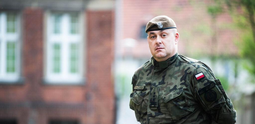 płk Krzysztof LESZCZYŃSKI - nowym komendantem Centrum Szkolenia WOT w Toruniu