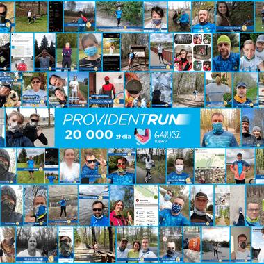 20 000 zł wsparcia dla Fundacji Gajusz – to efekt wirtualnego biegu Provident RUN