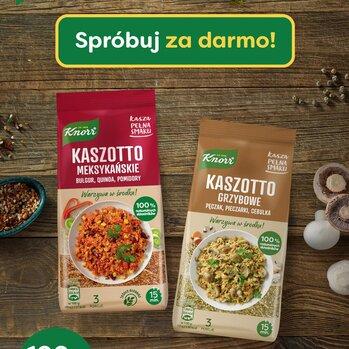 Zdjęcie: Smakuj i wygrywaj Kaszę pełną smaku Knorr – akcja darmowego próbowania i konkurs produktowy