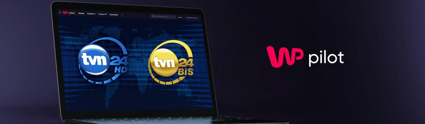TVN24 w ofercie WP Pilot