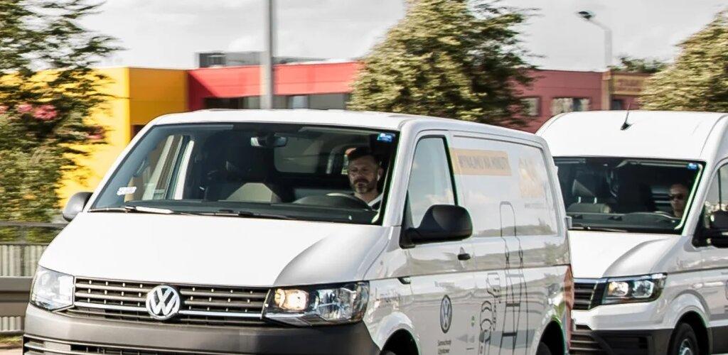 Volkswagen Samochody Dostawcze podsumowuje pilotażowy projekt wypożyczania samochodów dostawczych na minuty