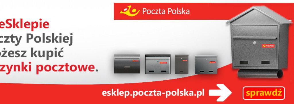 Poczta Polska: w naszych placówkach dynamicznie rośnie sprzedaż skrzynek na listy, masek ochronnych i żeli dezynfekujących