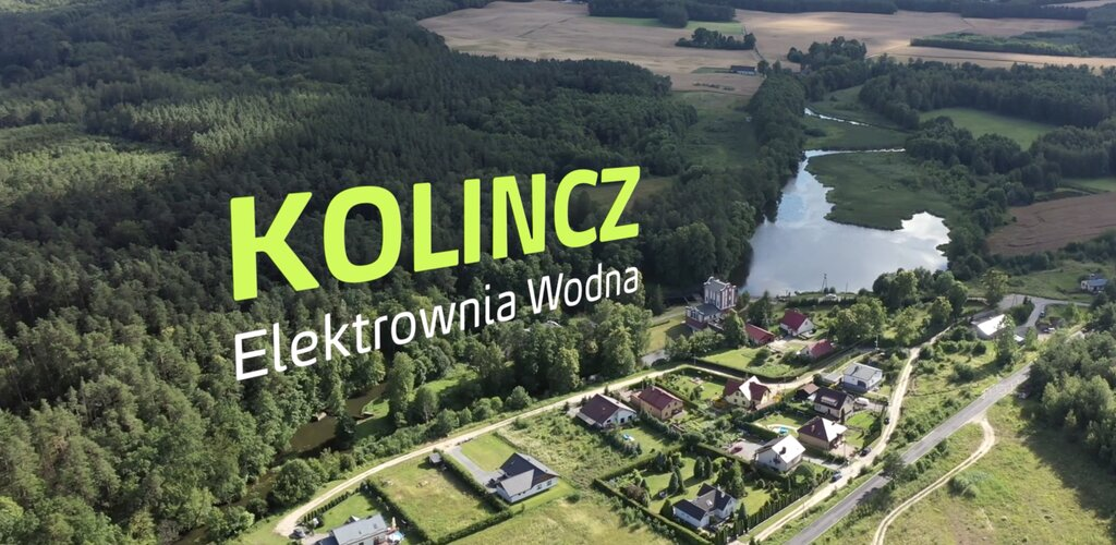 Elektrownie OZE Grupy Energa - Elektrownia Wodna Kolincz