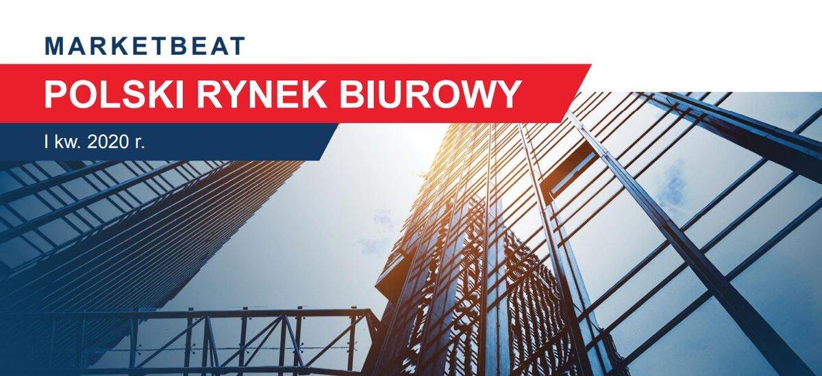 Całkowita aktywność najemców na dziewięciu rynkach biurowych w Polsce w pierwszym kwartale 2020 roku osiągnęła drugi najwyższy poziom od początku prowadzenia statystyk.