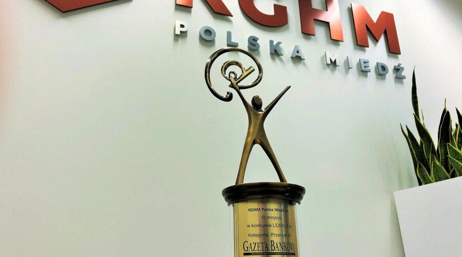 KGHM laureatem konkursu Lider 2019 Przemysł 4.0