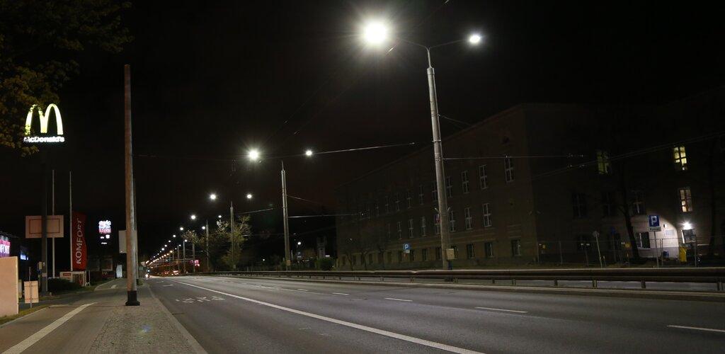 Finał modernizacji oświetlenia w Gdyni