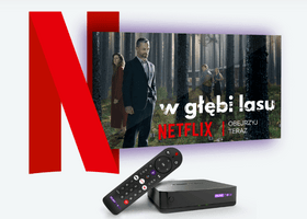 Netflix na pół roku w prezencie z ofertą  PLAY NOW TV BOX