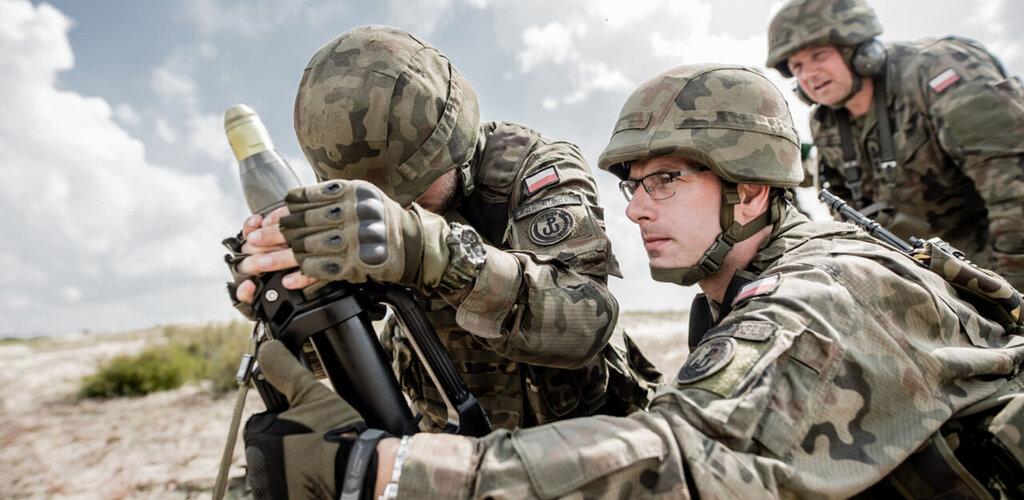 Podlascy Terytorialsi strzelali z nowego moździerza