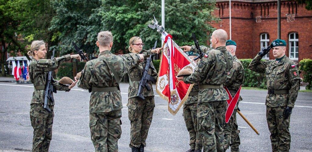 Terytorialsi przysięgali w Toruniu.
