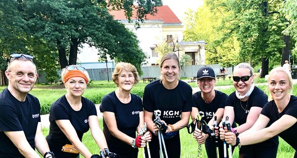 Nordic Walking Instruktażowo – KGHM z  nowym projektem dla mieszkańców