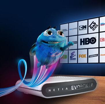 Zupełnie nowa telewizja w Netii