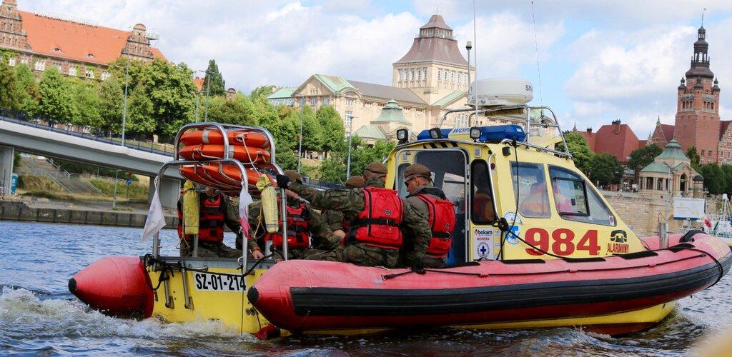 Terytorialsi razem ze szczecińskim WOPR na patrolach wodnych