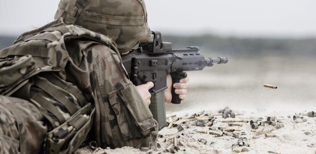 Kolejne karabinki GROT dla żołnierzy Wojska Polskiego