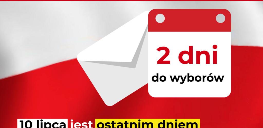 Poczta Polska: dziś mija termin wrzucania pakietów wyborczych do skrzynek pocztowych