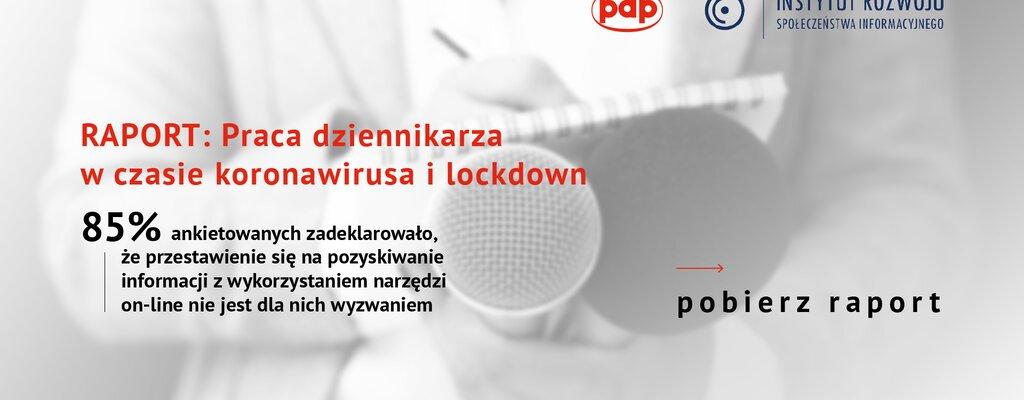Badanie PAP: Pandemia wymusiła zmiany w zawodzie dziennikarza