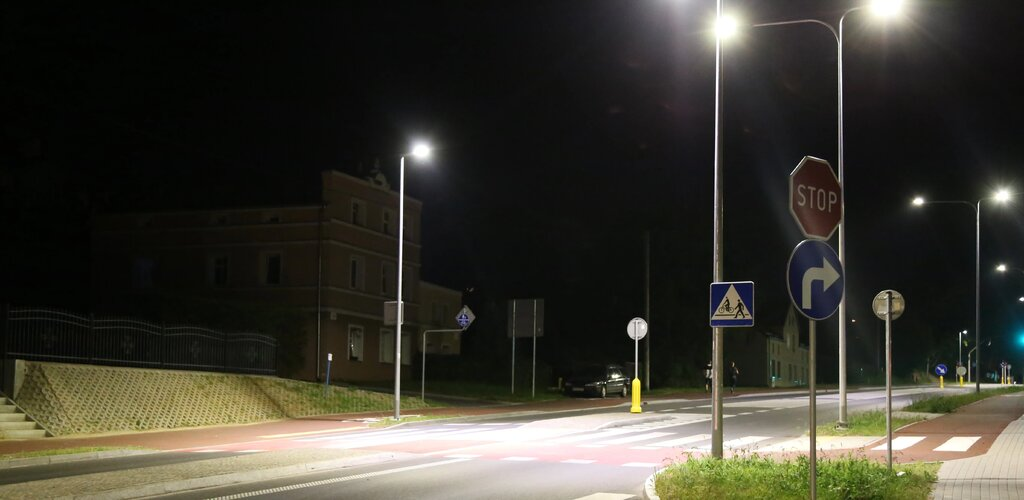 Oszczędne oświetlenie uliczne w Kwidzynie i Dzierzgoniu