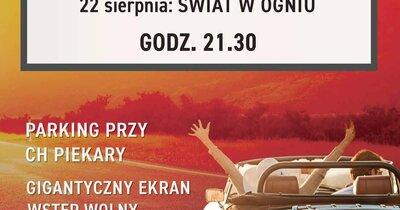 Centrum Handlowe Piekary w Legnicy zaprasza do letniego kina samochodowego