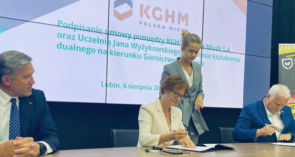 KGHM pomoże wykształcić górników i geologów