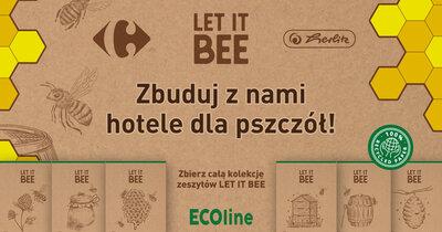 Let it bee - nowa akcja w sklepach Carrefour na rzecz ochrony pszczół