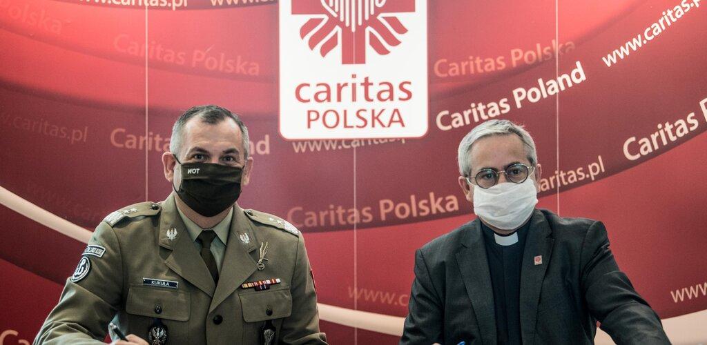 Terytorialsi ramię w ramię z Caritas